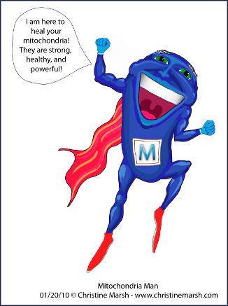 Mitochrondria Man