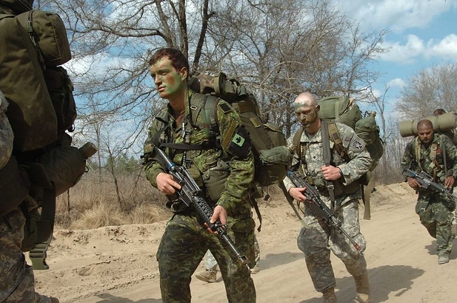 special forces march