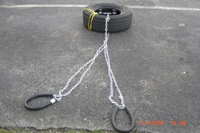 tire sled